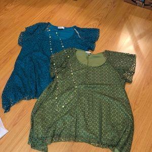 BOGO Dressbarn blouses; 1x